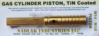 M14 M1A Sadlak NM Gas Piston TiN
